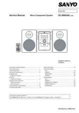 Buy Sanyo DC-MCR60-01(1) Manual by download #173923
