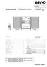 Buy Sanyo Service Manual For DC-BM500 Manual by download #175593