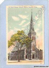 Buy CT Danbury St Peters Roman Catholic Church Street Scene ct_box1~518