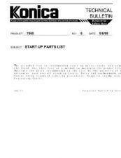 Buy Konica 06 Service Schematics by download #135444