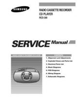 Buy Samsung RCD380LH AMF40012101 Manual by download #165057
