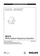 Buy SEMICONDUCTOR DATA BF570 CNV 2J Manual by download Mauritron #187231