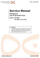 Buy Daewoo FR38030013(r) Service Manual by download #160655