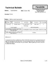 Buy Sharp TBS93009 Technical Bulletin by download #139159