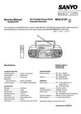 Buy Sanyo SS580103-00 11 Manual by download #177226