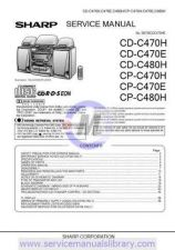 Buy Sharp CDBA2100CK Manual by download #179838