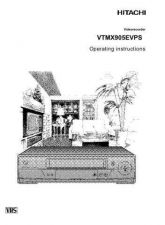 Buy Hitachi VTMX905EVPS FR Manual by download #171144