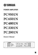 Buy Yamaha PC9501N EN OM D0 Operating Guide by download Mauritron #204991
