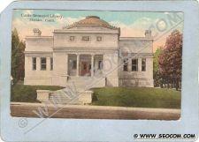Buy CT Meriden Postcard Curtis Memorial Library ct_box3~1294