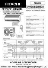 Buy HITACHI SM 0001E Service Data by download #147429