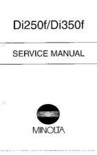 Buy Minolta DI250F DI350F SM Service Schematics by download #137233