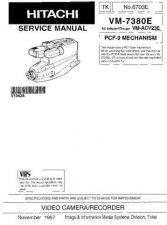 Buy Hitachi VM-7380E Manual by download Mauritron #184640