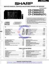 Buy Sharp CD-CPM4000W SM GB Manual by download #179994