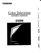Buy Toshiba cf35d50 Manual by download #171924