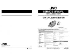 Buy JVC GR-DVL805UM TECHNICAL DATA by download #130852