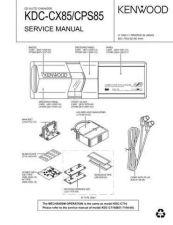 Buy KENWOOD KDC-C715 Y Service Manual by download #148175