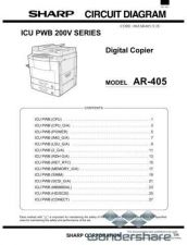 Buy Sharp 99 AR-405 CIRCUIT2 Manual.pdf_page_1 by download #178929