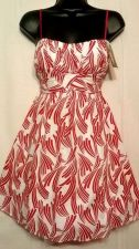 Buy New Ruby Rox Red White Valentine Party Spandex lined Fun Flirty Dress Size 5