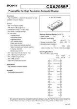 Buy MODEL CXA2055 Service Information by download #124032