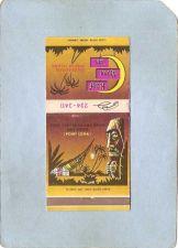 Buy CA San Diego Matchcover Tiki Half Moon Inn Hotel Boatel on beautiful Shelt~96