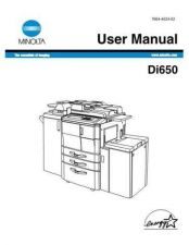 Buy Minolta DI650OPS Service Schematics by download #137248