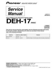 Buy PIONEER C3513 Service Data by download #149240