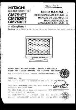 Buy Sanyo CM752ET IT Manual by download #173560