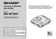 Buy SHARP MDMT80 MANUAL by download #128764