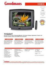 Buy GOODMANS TVG204T by download #125633