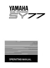 Buy Yamaha SY77E Operating Guide by download Mauritron #205362