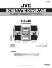 Buy JVC HX-Z10J sch Service Schematics by download #155993