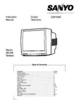 Buy Sanyo CBP258 Manual by download #171354