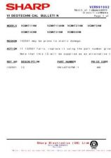 Buy Sharp VCMH711HM-022 Service Schematics by download #159179