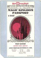 Buy FL Lake Buena Vista Amusement Park Ephemera Walt Disney World Magic Kingdo~89