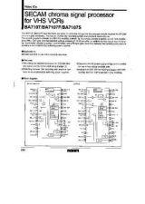 Buy MODEL BA7107 Service Information by download #123751