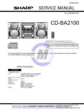 Buy Sharp CDBK3100W SM GB(1) Manual by download #179863