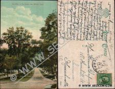 Buy CT New Milford Postcard The Elms On The Green ct_box4, getfrom3, ~1711