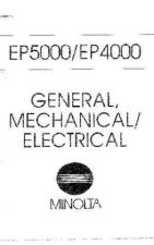 Buy Minolta GENMECHELECTRICAL Service Schematics by download #137518