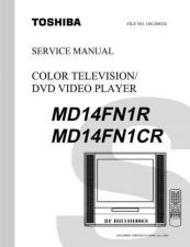 Buy TOSHIBA MD14FN1R MD14FN1CR SVCMAN Service Schematics by download #160166