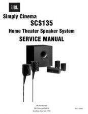 Buy INFINITY SCS135 REV1 SM Service Manual by download #147785