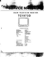 Buy EMERSON EMERSON-ORION TC1973D TV Manual by download Mauritron #184998