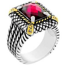 Buy Dark Pink Cable Ring (size: 08)