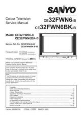 Buy Sanyo CE32FWN6-B-00 SM Manual by download #173267