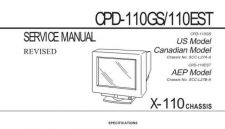 Buy SONY CPD-110GS CDC-1409 by download #159477