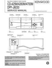 Buy KENWOOD DPF-J6030 Service Schematics by download #131617