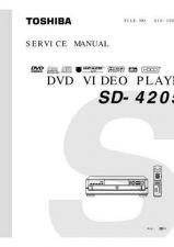 Buy TOSHIBA SD100X1 Service Schematics by download #160345