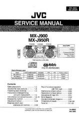 Buy JVC MX-J900 Service Manual by download #156352