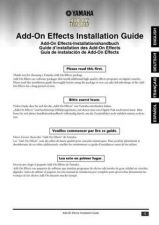 Buy Yamaha ADDONINSTALLATIONE Operating Guide by download Mauritron #204368