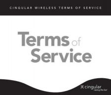 Buy PALM CINGULAR TERMS OF SERVICE by download #127068