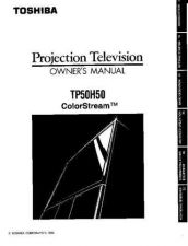 Buy Toshiba TP55C80 2 Manual by download #172470